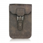 Stylish PU Leather Sleeve Pouch Case for Samsung Galaxy Note II / N7100 / HTC One X - Brown