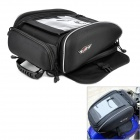 PRO-BIKER G-XZ-002 Multi-Function Motorcycle Fuel Tank Bag - Black