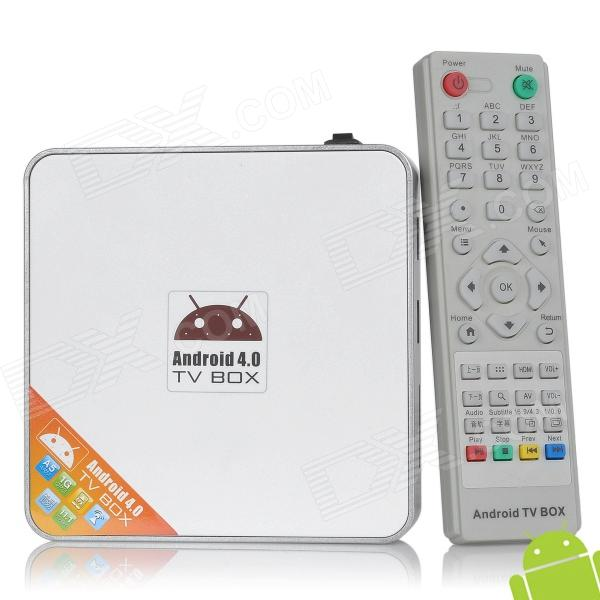 Diyomate A6 Android 4.0 Google TV Player w/ Wi-Fi / SD / 1GB RAM / 4GB ROM - White