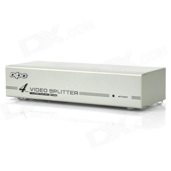 все цены на DP-V2504 VGA 5-Port Video Splitter - White (1-In / 4-Out) онлайн