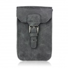 Stylish PU Leather Sleeve Pouch Case for Samsung Galaxy Note II / N7100 / HTC One X - Grey
