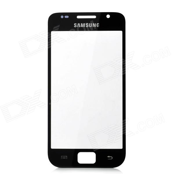 Replacement Front Panel Glass Screen for Samsung i9000 - Black