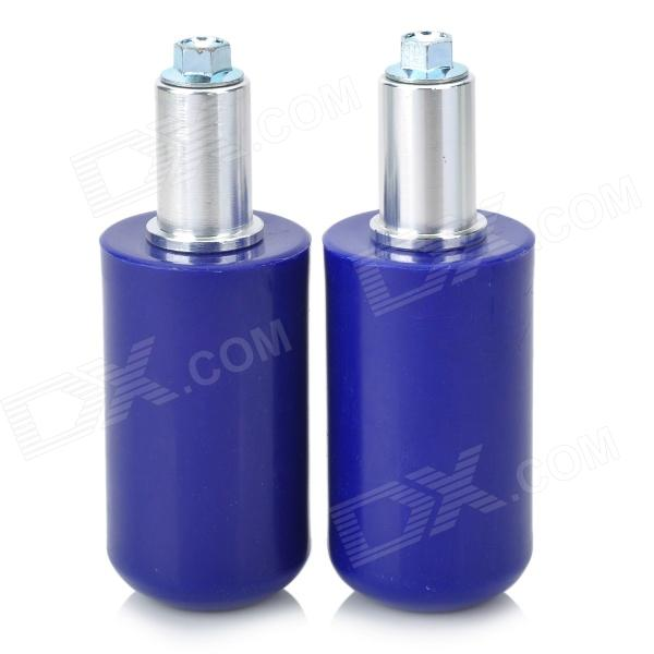 Universal Motorcycle Extended Frame Sliders Crash Protectors - Blue (2PCS)