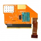 Replacement LCD Screen + Touch Screen Flex Cable for Nokia N9 - Golden