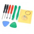 10-in-1 Professional Disassembly Repairing Tool for iPhone / iPod
