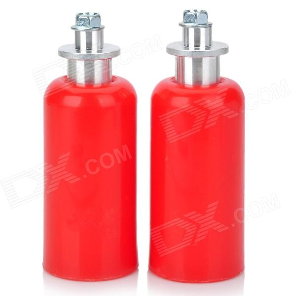 Universal Motorcycle Extended Frame Sliders Crash Protectors - Red (2PCS)