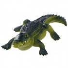 OP05 Fierce Crocodile Shaped Table Decoration - Deep Green + Yellow Green