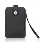 Protective PU Leather Sleeve Pouch Case for Samsung Galaxy Note II / N7100 / HTC One X - Black