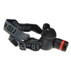 Y1006 160lm 3-Mode White Light Zooming Headlamp - Black (3 x AAA)