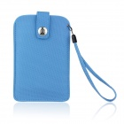 Protective PU Leather Sleeve Pouch Case for Samsung Galaxy Note II / N7100 / HTC One X - Blue