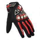 PRO-BIKER MCS-23 Full-Finger Autumn & Winter Motorcycle Racing Gloves - Red + Black (Pair / Size XL)