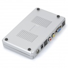 TV072 Digital Computer TV Tuner Box Program Receiver - Silver