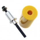 Universal Motorcycle Extended Frame Sliders Crash Protectors - Yellow (2PCS)