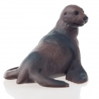 OP12 Sea Lion Shaped Table Decoration - Grey + Brown