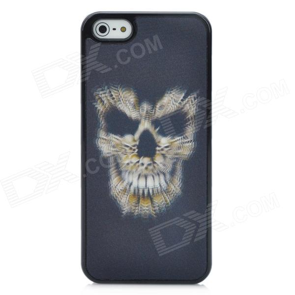 Protective 3D Skull Ghost Pattern Back Case for Iphone 5 - Black рюкзак case logic 17 3 prevailer black prev217blk mid