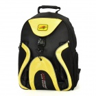 PRO-BIKER G-XZ-012 Motorcycle Backpack Travel Bag Helmet Carrier - Black + Yellow