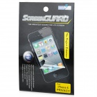 Protective Privacy LCD Screen Protector for Iphone 5 - Transparent Black