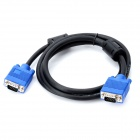 U1209014 VGA 3+8 Male to Male Video Transmission Cable - Black (145cm)