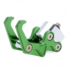 DIY Aluminum Alloy Eagle Claw Luggage Hanging Hook for Motorcycle / Bicycle - Green