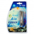 Compact Anion Oxygen Bar Car Air Freshener - Brown (12V)