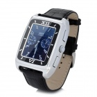 "W688 GSM Watch Phone w/ 1.5"" Resistive Screen, Triple-Band and Single-SIM - Silver + Black"