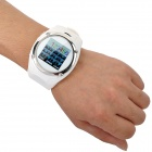 QQ999 GSM Watch Phone w/ 1.5&quot; Resistive Screen, Quad-Band, FM and Single-SIM - White