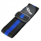 William Stylish Nylon Guitar Strap Belt - Blue + Black