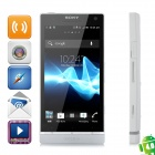 "Sony LT26ii Xperia SL Android 4.0 WCDMA Bar Phone w/ 4.3"" Capacitive Screen, GPS and Wi-Fi - White"