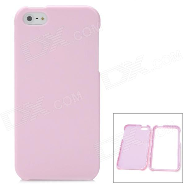 Protective Detachable PC Back Case for Iphone 5 / 5s - Pink ipega i5056 waterproof protective case for iphone 5 5s 5c pink
