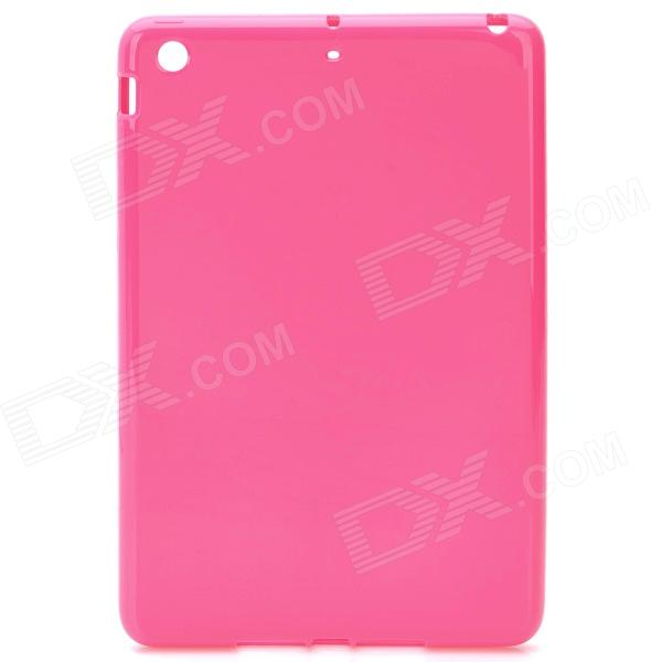 Protective TPU Back Case Cover for Ipad MINI - Deep Pink