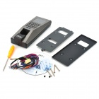 2.4'' LCD Fingerprint Biometric Security Door Access Control Machine - Silver (DC 12V)