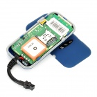 GT02A Portable Quadband Multi-Function GPS / GSM Vehicle Tracker - Blue