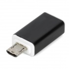 Micro USB Female to Male MHL HDMI Adapter w/ USB Cable for Samsung Galaxy S3 i9300 - Black