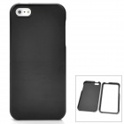 Protective Detachable PC Back Case for Iphone 5 / 5s - Black