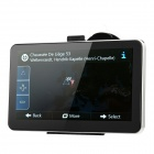 "7"" Resistive Screen LCD Win CE 6.0 GPS Navigator with Europe Map / AV / TV"
