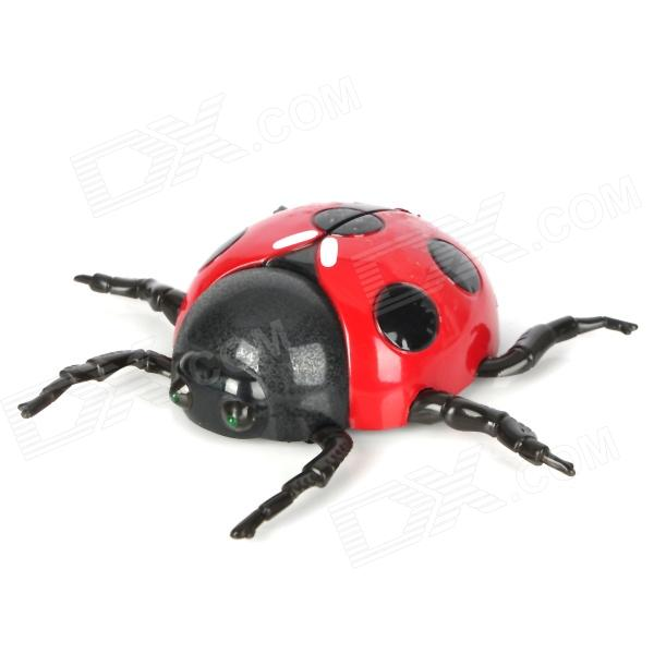 Infrared Remote Control 4-CH Beetle Toy - Red + Black
