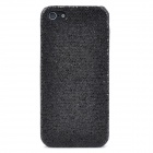 Paillette Style Protective Plastic Case for Iphone 5 - Black