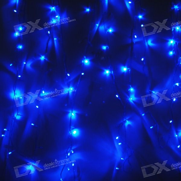 Blue 100-LED Christmas/Decoration String Lights (10-Meter/110V AC)