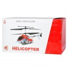 Lanxiang 7708 Mini Rechargeable 4-Channel IR Remote Control Helicopter - Red + Black + Silver
