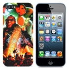 Resident Evil Pattern Protective Plastic Back Case for iPhone 5 - Multicolored