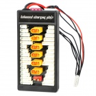 2~6S LiPo XT60-Plug Parallel Balanced Charging Plate for Imax B6 / B6AC - Black + Yellow