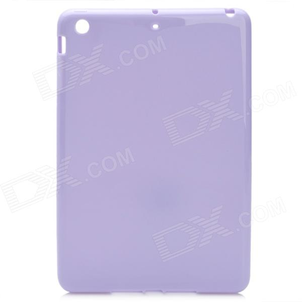 Protective TPU Back Case Cover for Ipad MINI - Light Purple