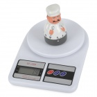 "SF400 High Accuracy Kitchen 2.2"" Display Digital Scale - White (2 x AA)"