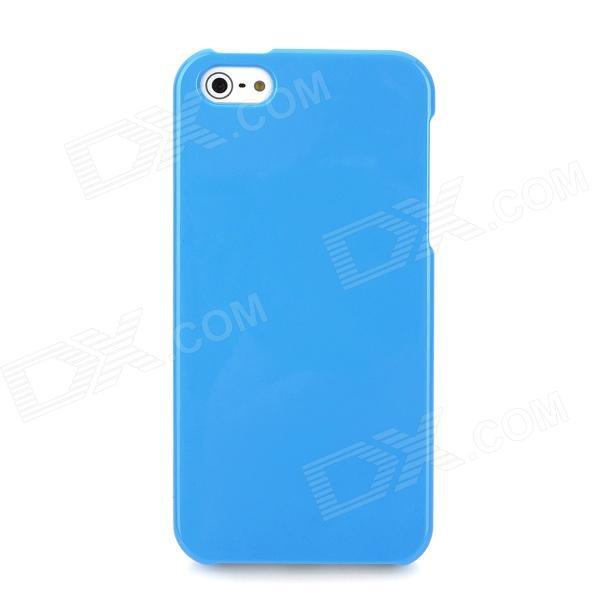 Protective Detachable PC Back Case for Iphone 5 / 5s - Blue elegance tpu pc hybrid back case with kickstand for iphone 7 plus 5 5 inch red