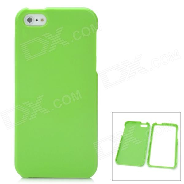 все цены на Protective Detachable PC Back Case for Iphone 5 / 5s - Green онлайн
