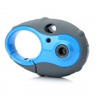 Keychain Style Mini 300KP CMOS Kids Digital Camera Toy - Blue + Grey