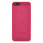 Protective Shimmering Powder Style Back Cover Case for Iphone 5 / 5s - Pink
