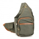 Canvas Protective One Shoulder Bag for DSLR Camera - Olive