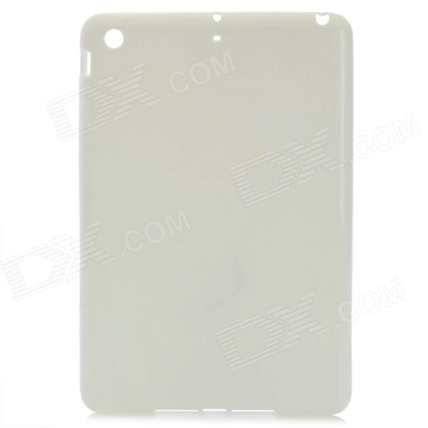 Protective TPU Back Case Cover for Ipad MINI - Milk White for ipad mini