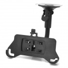 Universal Car Suction Cup Swivel Mount Holder for Iphone 5 - Black